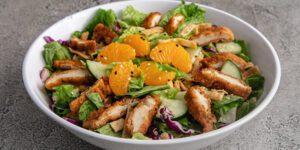 Asian Crispy Chicken Salad