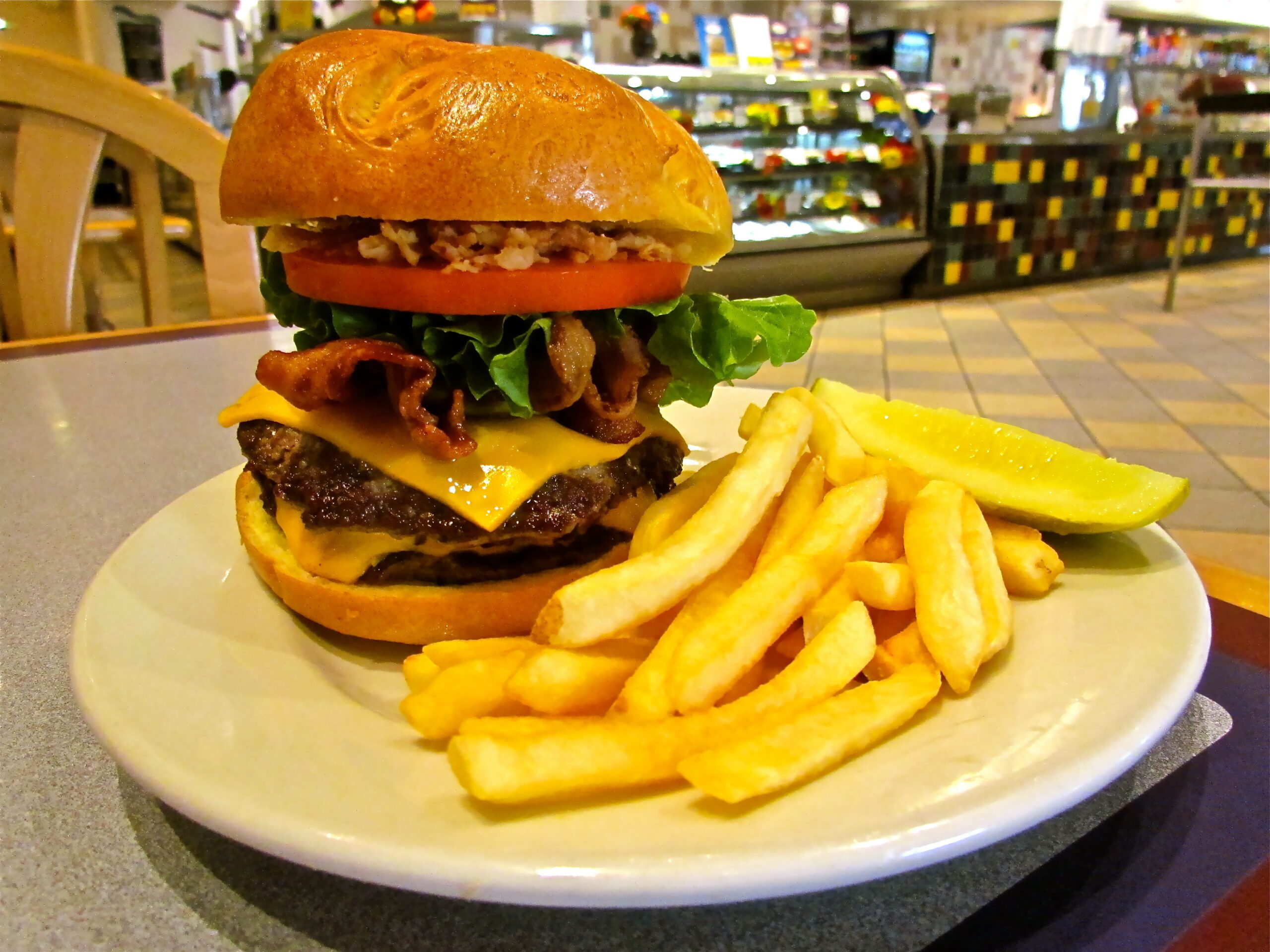 The Empire State Burger!